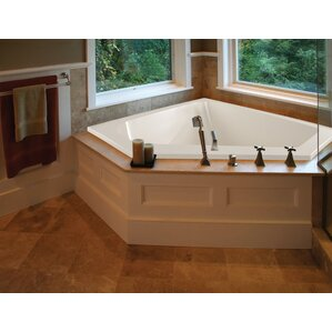 whirlpool tub. Designer Courtney 60  x 48 Whirlpool Bathtub Tubs You ll Love Wayfair