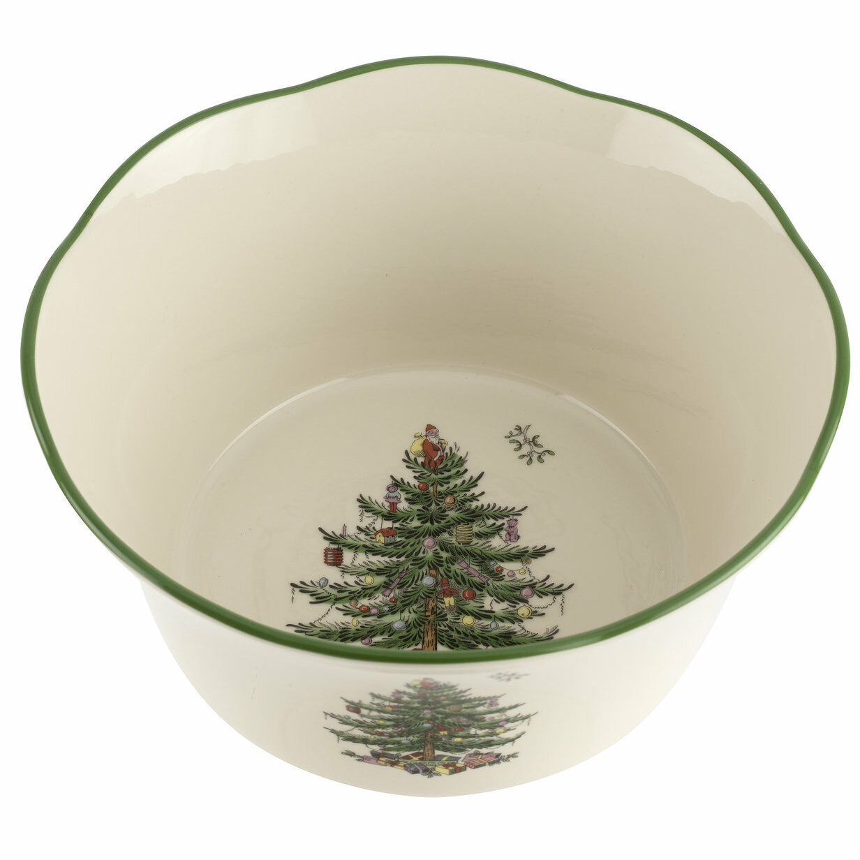 Spode Christmas Tree Candy Nut Bowl Reviews Wayfair
