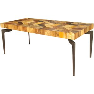 Spiva Dining Table by World Menagerie