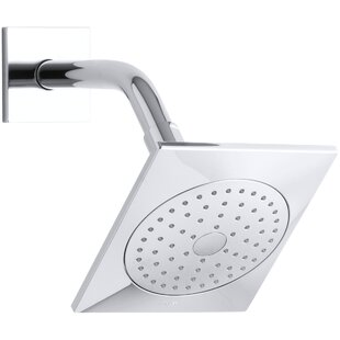 Kohler Loure 2.5 GPM Single-Function Shower Head with Katalyst Air-Induction Spray