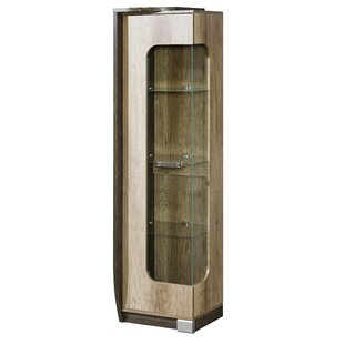 Farryn Glass Door Display Lighted China Cabinet