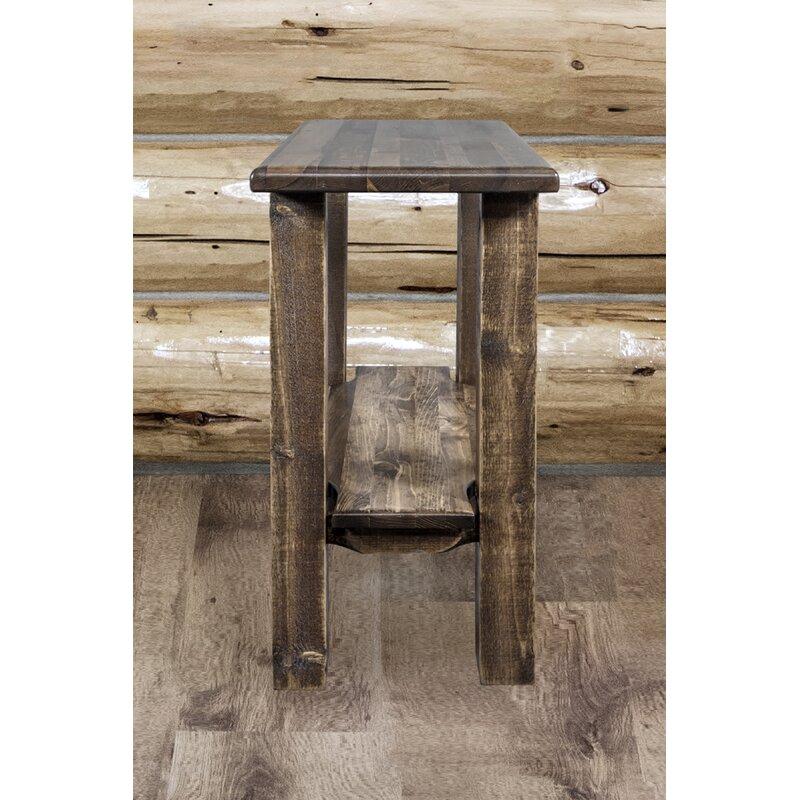 Loon Peak Abella End Table Reviews Wayfair