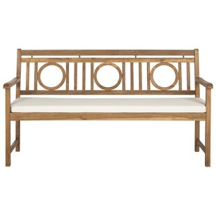 Darby Home Co Kuhlmann 3 Seat Acacia Garden Bench