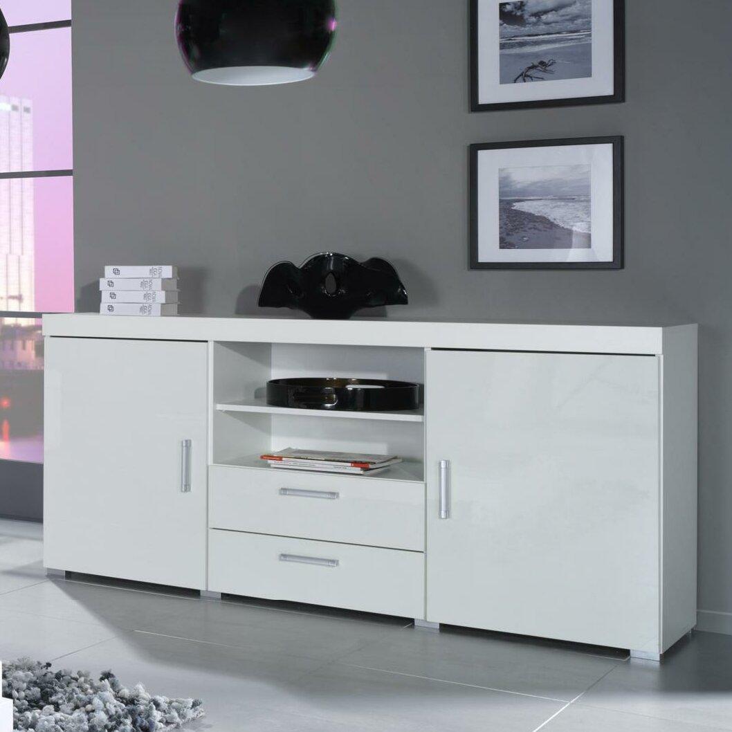 Gloss White Desk Double Sided Desk
