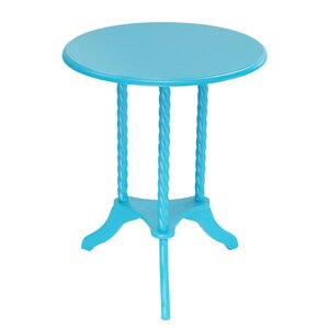 Harlen Pedestal End Table by Harriet Bee