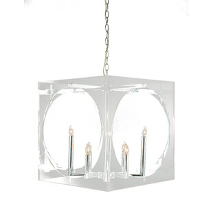 Rosdorf Park Litwin 8-Light Square/Rectangle Chandelier