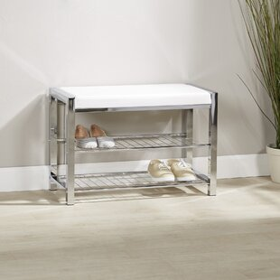 Gladys Metal Storage Bench