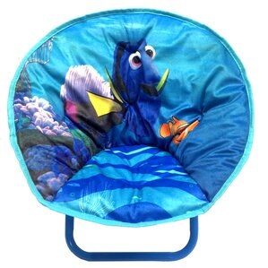 Finding Dory Toddler Saucer Kids Polyester Novelty Chair by Idea Nuova