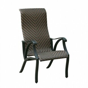 Dalkeith Contemporary Metal Patio Dining Chair (Set of 4)