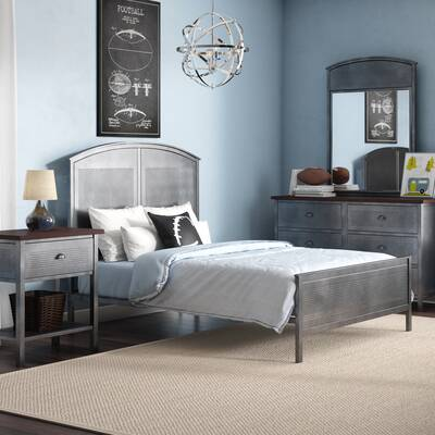 Powell Finley Panel 4 Piece Bedroom Set & Reviews | Wayfair on
