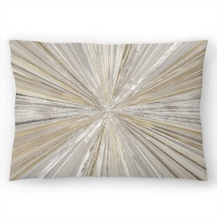 Shimmering Light I Lumbar Pillow
