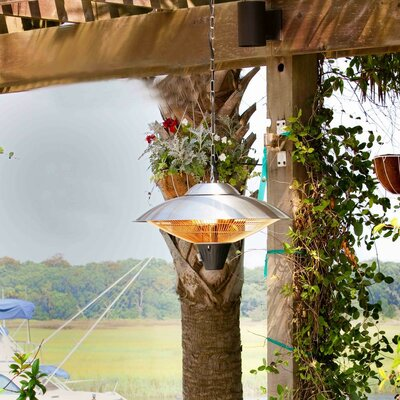 AZ Patio Heaters 1500 Watt Electric Hanging Patio Heater