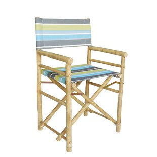 ZEW Inc Hand Crafted Folding Director Chair (Set of 2)