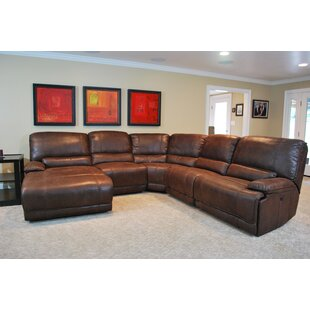 Shop Santorini Reclining Sectional by Latitude Run