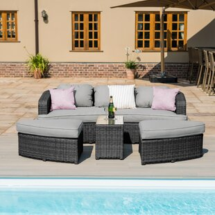 Wymore 5 Seater Rattan Sofa Set By Sol 72 Outdoor