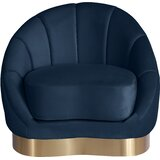 Stlouis Barrel Chair by Everly Quinn