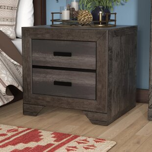 Katarina 2 Drawer Nightstand by Mistana