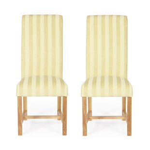 Upholstered Dining Chair (Set Of 2) By Brambly Cottage