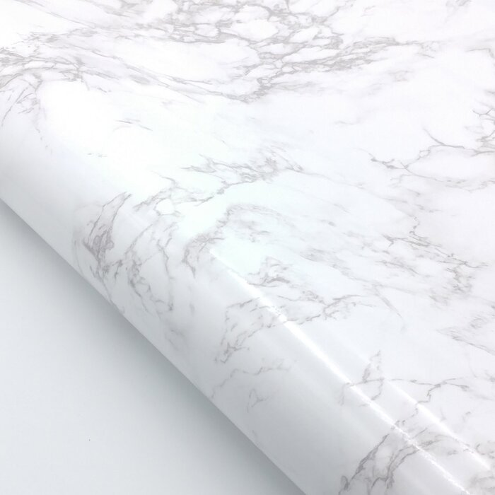 Tulane Faux Marble Contact Paper 65 L X 24 W Peel And Stick Wallpaper Roll