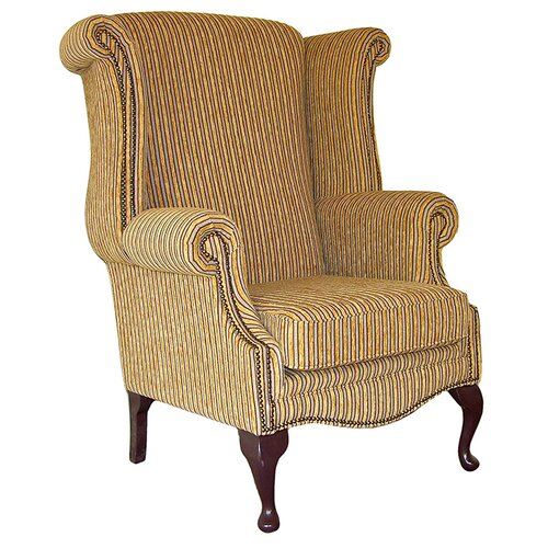 Clardy Wingback Chair Astoria Grand Upholstery: Angelina