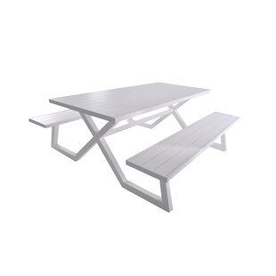 Orren Ellis Bima Deluxe Picnic Table
