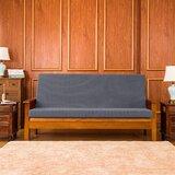 Housse pour futon à coussins carrés et rectangulaires à coussin carré texturé