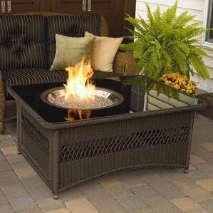 Coffee Table Fireplace natural gas outdoor fireplaces & fire pits you'll love | wayfair