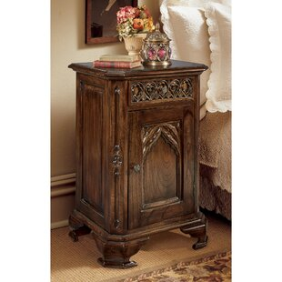 Best Reviews 1 Drawer Nightstand by Design Toscano