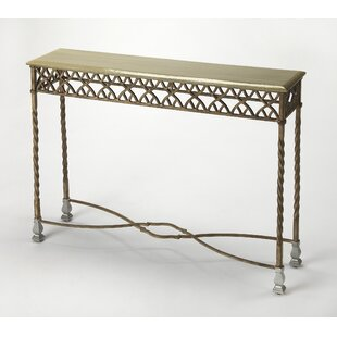 Jaynes Platinum Console Table