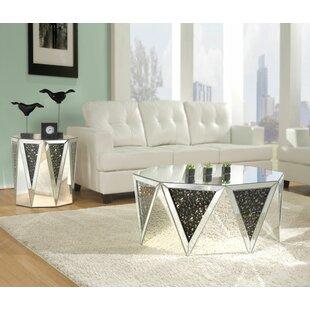 Drum Shaped Coffee Table.Capiz Drum Coffee Table Wayfair