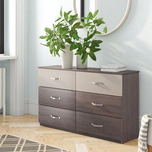 Covey 6 Drawer Chest By Mercury Row