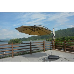 Elland Outdoor Patio 1.5' Cantilever Umbrella