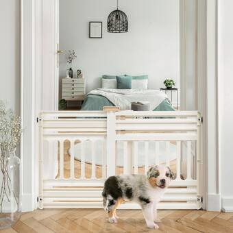 Color : 4-Panel String Lights Richell 3-in-1 Convertible Elite Pet Gate3-in-1 Convertible Pet Gate With Larger Openings Beautifully In For Any Home D/écor