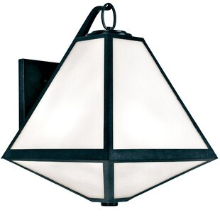 Brayden Studio Hankerson 3-Light Outdoor Wall Lantern