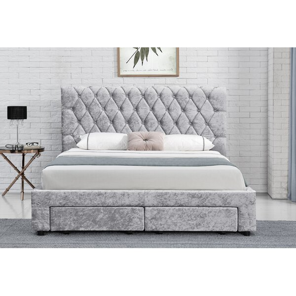 Remarkable Shoptagr Bernardo Upholstered Ottoman Bed By Rosdorf Park Ncnpc Chair Design For Home Ncnpcorg