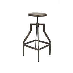 Review Estrada Height-Adjustable Swivel Bar Stool (Set Of 2)