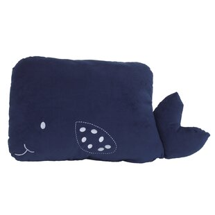 Vasya Whale Throw Pillow