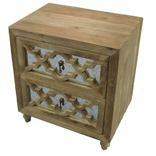 Llewellyn 2 Drawer Nightstand