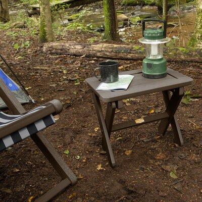 Arabella Folding Plastic Side Table by ELK OUTDOORS® 2020 Sale