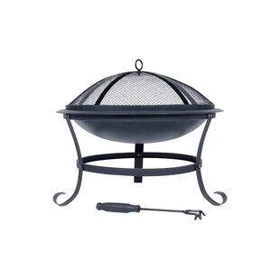 Steel Wood Burning Fire Pit By Sol 72 Outdoor