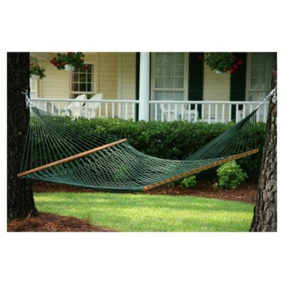 Ecker Rope Hammock In Green by Charlton Home Best Design