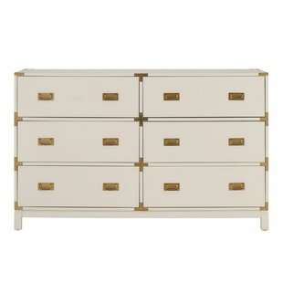 Willa Arlo Interiors Arnulfo 6 Drawer Double..
