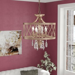 Willa Arlo Interiors Cece 4-Light Chandelier