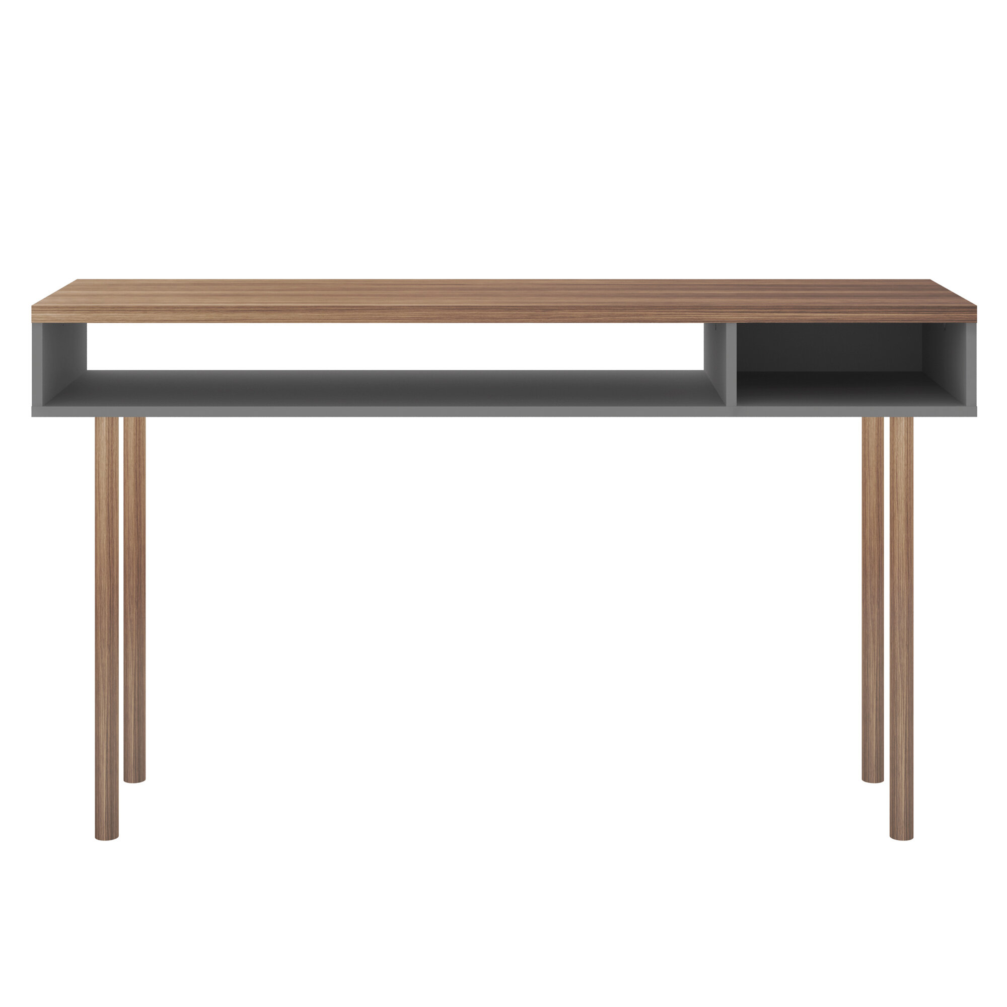 George Oliver Maplesville 47 24 Solid Wood Console Table Wayfair
