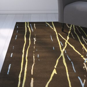 Woodburn Brown / Yellow Rug