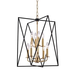 Online Reviews Fitz 8-Light Square/Rectangle Chandelier ByWilla Arlo Interiors