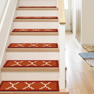 Carpet Treads For Wood Stairs | Wayfair