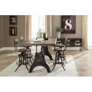 Kylie 5 Piece Dining Set 17 Stories