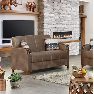 Reviews Meaney Leather Loveseat by Latitude Run Reviews (2019) & Buyer's Guide