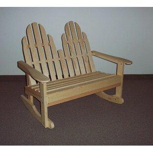 EZ Rocking Bench Prairie Leisure Design